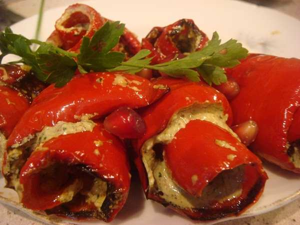 болгарский перец по грузински