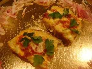 Супербыстрая тост-пицца