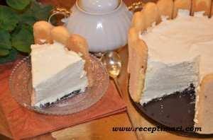 Торт-мусс с маскарпоне
