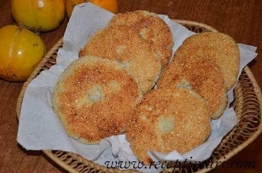 Грузинские лепешки из кукурузной муки — Мчады