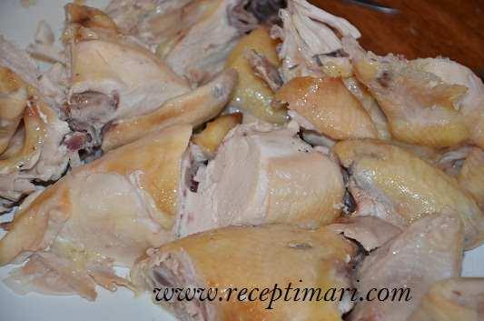 поделить курицу
