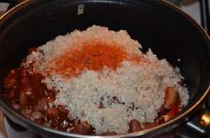 Свинина с фасолью в томатном соусе-6