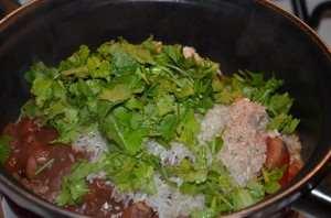 Свинина с фасолью в томатном соусе-8