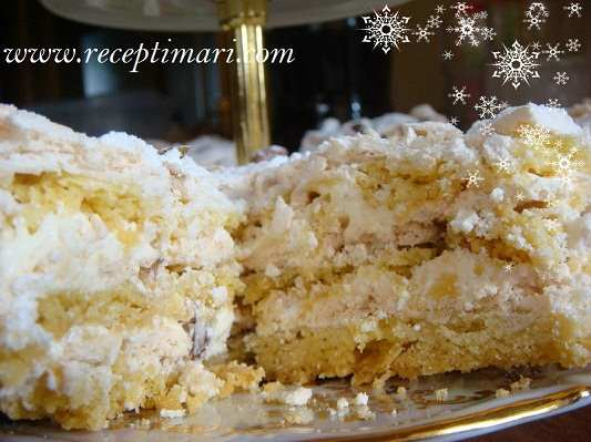 Торт Белый мишка