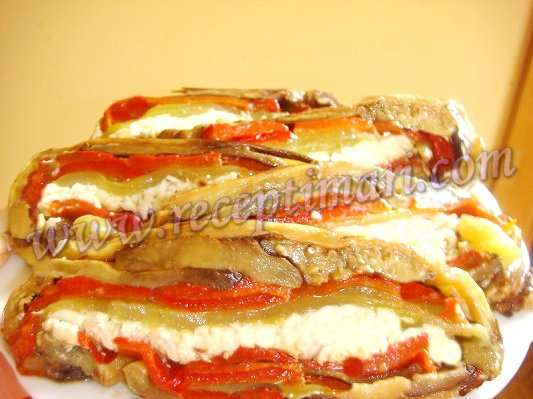 блюда из перцев и баклажанов