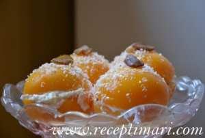 десерт из персиков