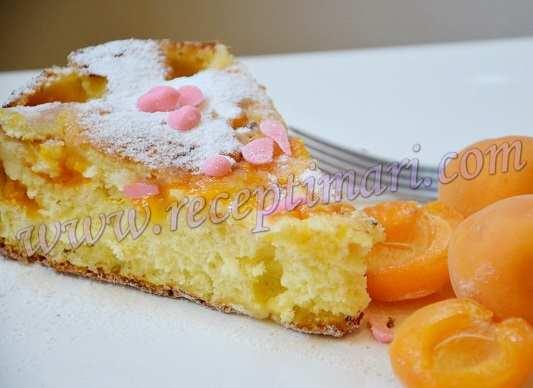 абрикосовая шарлотка