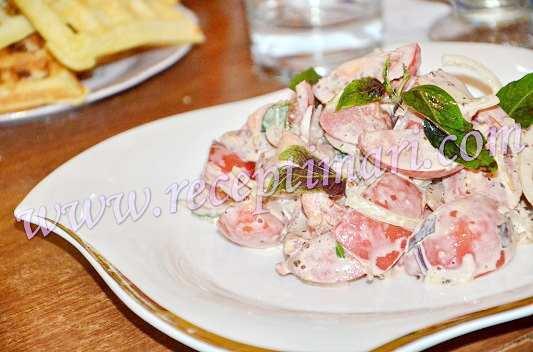 салат из помидоров по итальянски