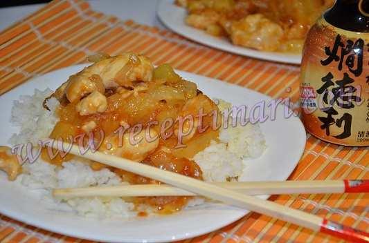 курица в китайском соусе