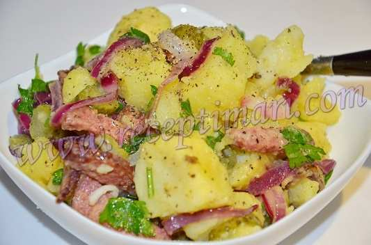 салат баварский