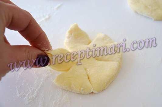 Какой формы можно сделать булочки фото пошагово