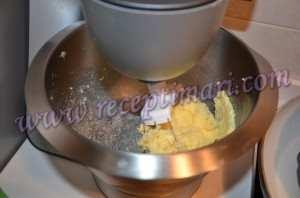 Масляный бисквит для торта-3