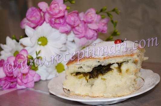 пирог из щавеля