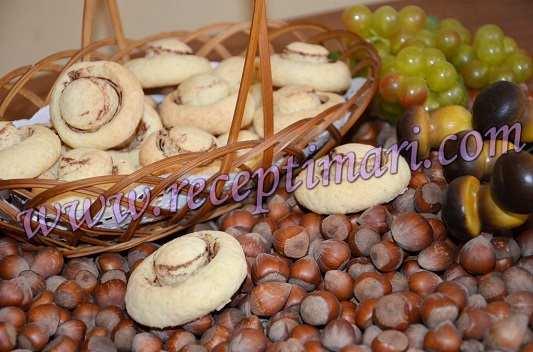 Печенья грибочки домашние