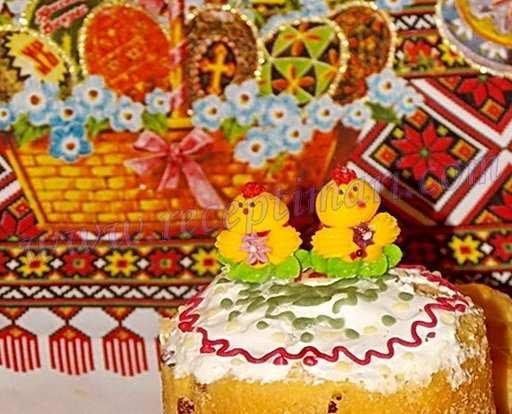 пасхальные сахарные фигурки для украшения куличей
