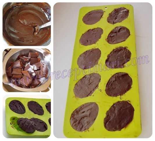 как сделать шоколадное яйцо
