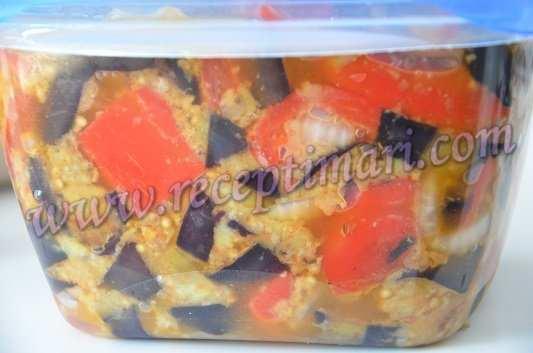 маринованные баклажаны с перцем