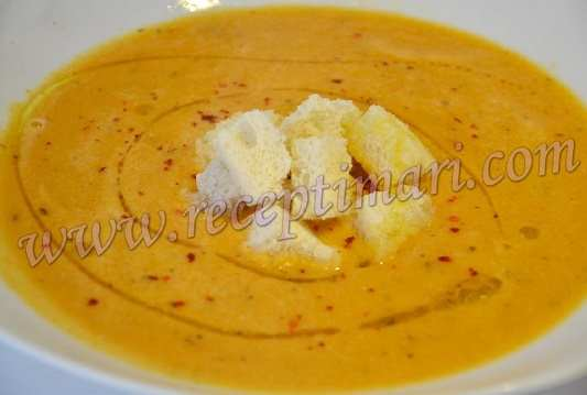 Суп из чечевицы с мятой