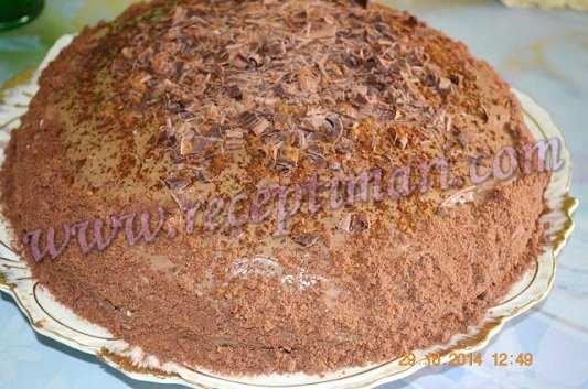мокко торт