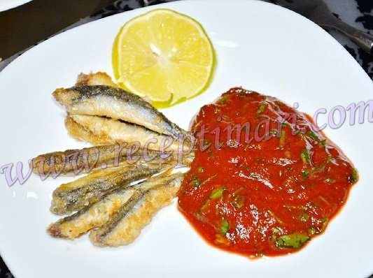 красный соус к рыбе