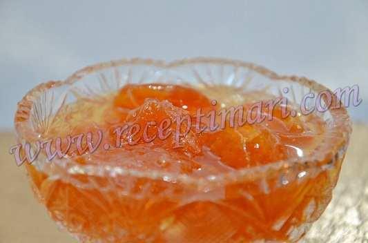 мандариновое варенье дольками