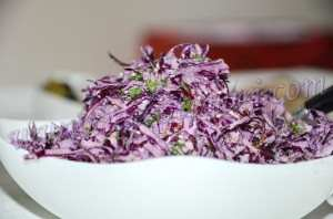 фиолетовая капуста рецепты
