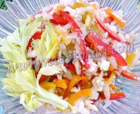 салат с пекинской капустой без майонеза
