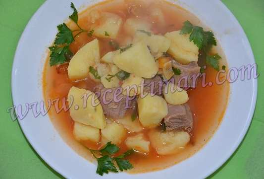 самый вкусный суп из баранины