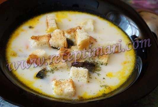 суп из рыбных консервов рецепт