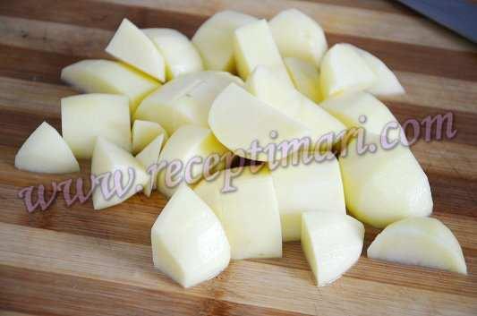 суп из грибов с картошкой