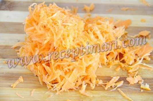 суп из грибов с морковкой