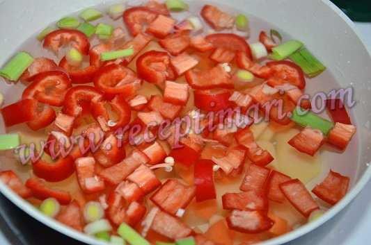 картошка морковка болгарский перец