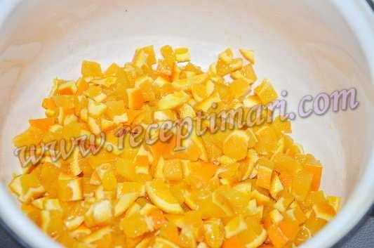 нарежем апельсины