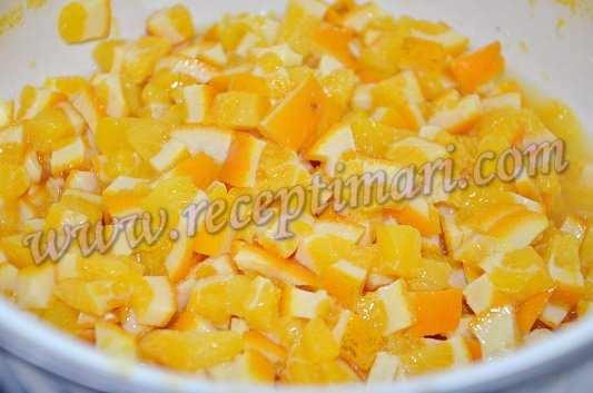 варенье из апельсин готово