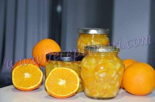 апельсиновое варенье рецепт