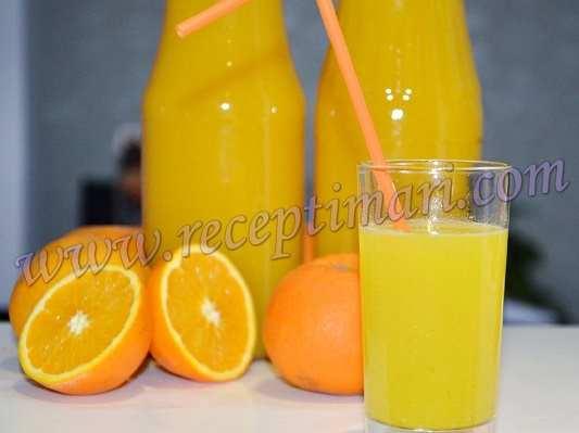 как приготовить сок из апельсинов