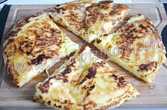 хачапури ленивое на сковороде
