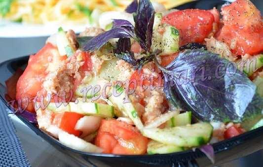 хлебный салат
