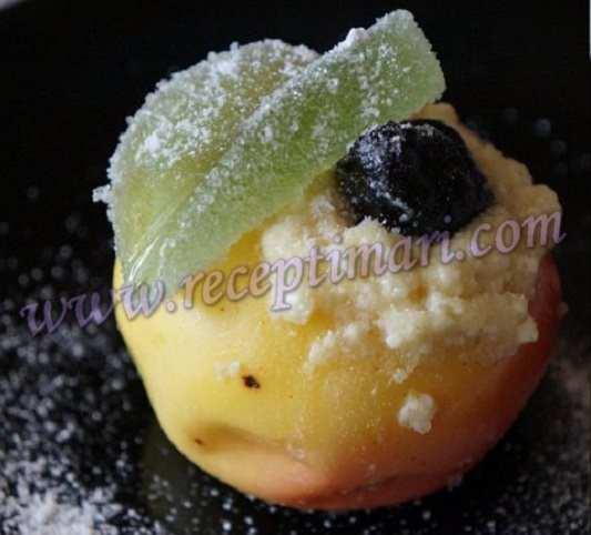яблоки печеные в микроволновке рецепт