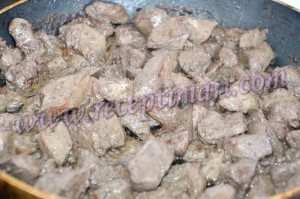 поджарим печень индюшки