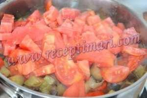 овощи баклажаны баранина