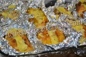 заполним картошку капустой