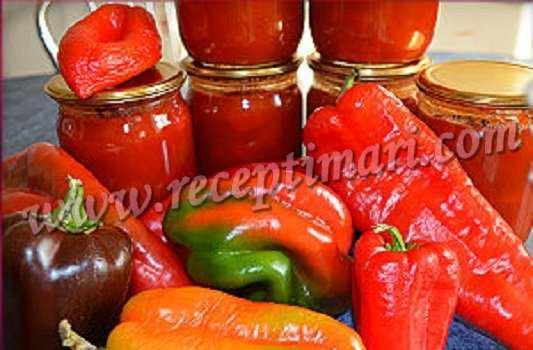 лечо томат болгарский перец