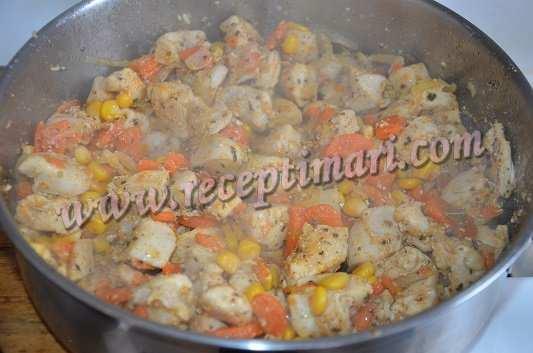 морковка грудка кукуруза специи
