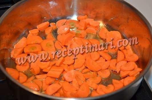 морковка и масло