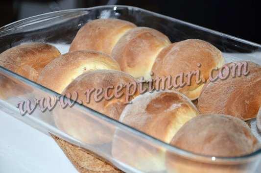 готовые булочки техас
