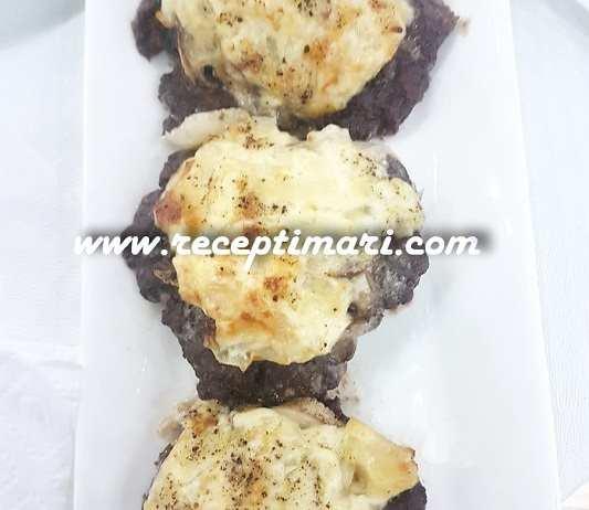 мясо провансаль с грибами
