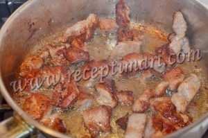 обжарим свинину на сковороде