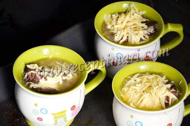 запеч луковый суп в духовке