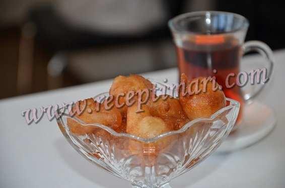 локма турецкая сладость